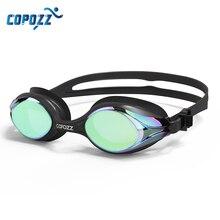 COPOZZ Профессиональный Водонепроницаемый Плавание ming очки для взрослых с двойными линзами Анти-туман воды Плавание очки Для мужчин Для женщин Очки Плавание Goggle с Чехол