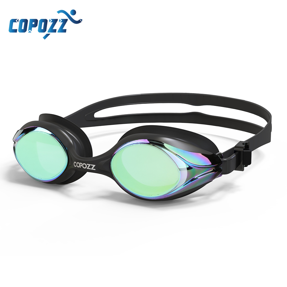 COPOZZ Professional Waterproof Swimming Goggles Adult Double Anti-fog Water Swim Glasses Men Women Eyewear Swim Goggle With Case