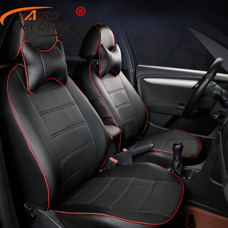 AutoDecorun пользовательские автомобильные чехлы для сидений для Land Rover freelander 2 чехлы на сиденья аксессуары, из искусственной кожи подушки сидень