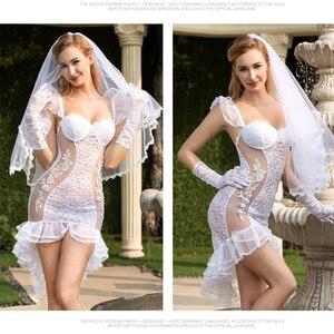 Женское нижнее белье, эротическое нижнее белье, для косплея, на свадьбу