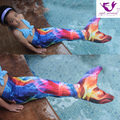 Myle Factory Own Design Swimmable Mermaid Tail W Monofin 11 Color To Choose Christmas Gift Halloween Costume Girls Kids Children