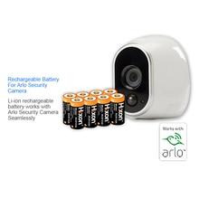 8 pcs 700 mah 3.7 v Baterias Recarregáveis De Lítio-íon para Netgear RCR123A Arlo Câmeras HD e Reolink CE, UL & FCC certificated