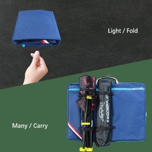 Image 3 - الإبداعية ضوء الوزن كبيرة الفن حقيبة للطلاب الاطفال الفن لوازم تخزين 4K دفتر الرسم الرسم حقيبة