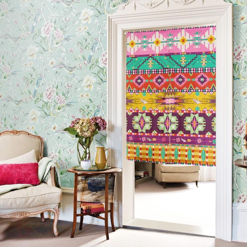 Bohemian stijl gordijnen koop goedkope bohemian stijl gordijnen loten van chinese bohemian stijl for Kleur moderne volwassen kamer