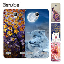 Geruide Silicon Phone Case For ZTE Blade A520 A 520 BA520 Housing Cover Flexible Bag Shell Coque a520