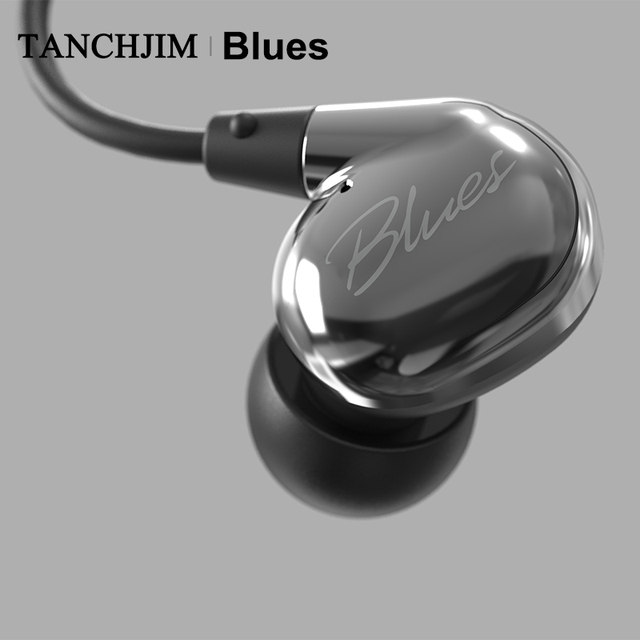 TANCHJIM Blues HiFi Audio DMT Dynamic driver In-ear earphone IEM for Blues/Pop/Rock Music For Mobile Phone Line Type earbuds 3