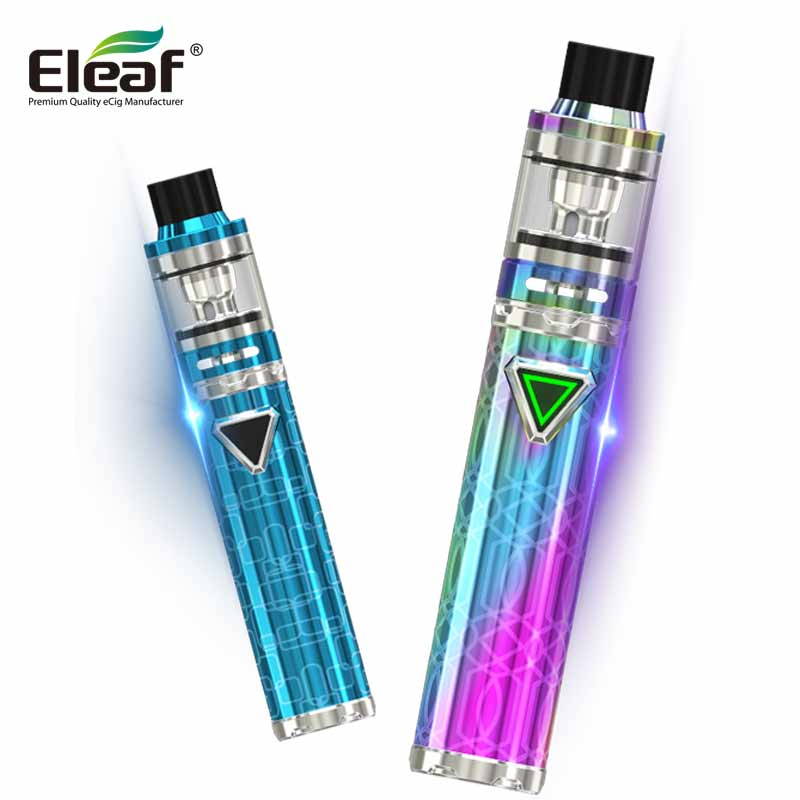 все цены на Original Eleaf iJust ECM 3000mAh kit 40W ijust Kit 25MM Diameters Botton LED fit EC mesh coils Vape E-cigs Kit 4ml Atomizers