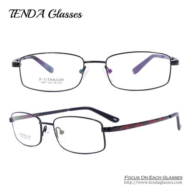 Мода Очки Градусов Гибкая Титана Очки Оптические Frame Óculos Де Грау Для Женщин