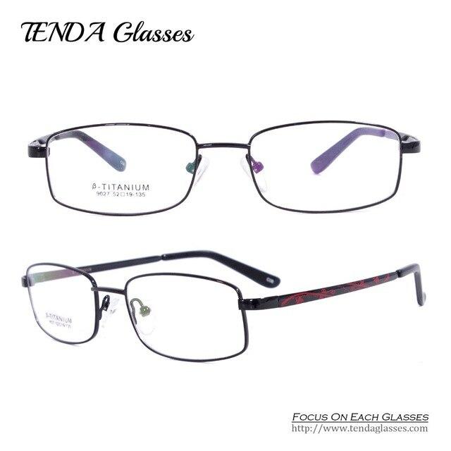 Fashion Glasses Degree Flexible Titanium Eyewear Optical Frame Oculos De Grau For Women