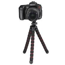 SHOOT Большой Размер Осьминог Штатив для Nikon Sony Canon Fuji Flexable d5200 DSLR Камеры Штатив Gopro SJCAM Yi 4 К Планшет Крепления