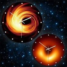 Creative Black Hole Series Acrylic Wall Clock New Starry sky Home wall hangings