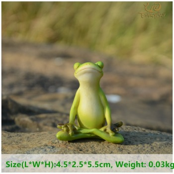 Everyday Collection Animal Frog Fairy Garden Figurines Miniature Landscape Home Decoration Accessories Birthday Gift Souvenirs 1