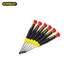 Stanley 1-piece precision flat end micro slotted screwdriver mini 1.0mm 1.6mm 1.8mm 2.0mm 2.5mm 3mm screwdrivers opening tools(China)