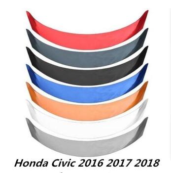 JINGHANG ABS Vernice Auto Ala Posteriore Tronco Lip Spoiler Misura Per Honda Civic 2016 2017 2018