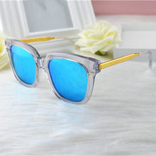New polarized sunglasses star men and women with the color film sunglasses driving mirror(China)