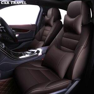 Image 5 - Cubierta de asiento de cuero de coche para BMW x1 x2 x3 x4 x5 x6 z4 1, 2, 3, 4 protector de asientos de coche de la serie 5 7