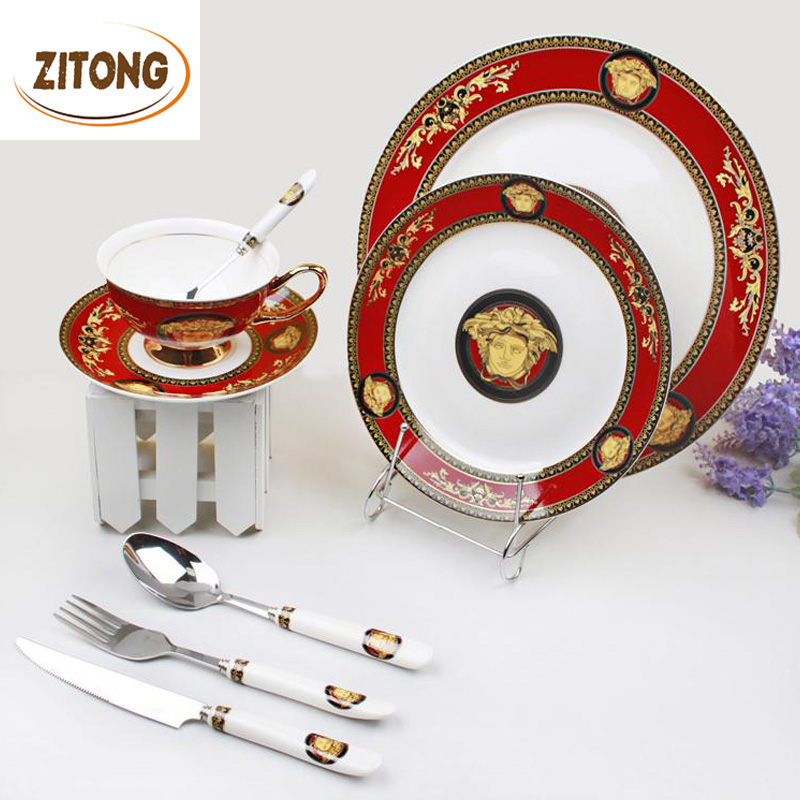online buy wholesale dinner set porcelain from china dinner set