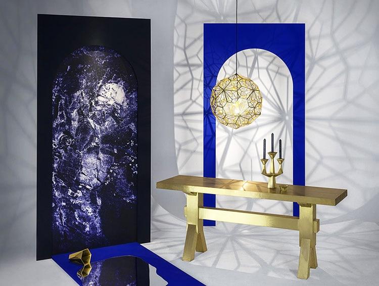 Image 4 - 거실 연구 부엌에 대한 웹 에칭 현대 펜던트 라이트 섀도우 램프의 복제lamps for living roomfor lamplight replica -