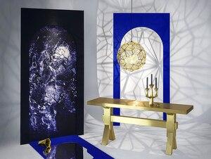 Image 4 - Réplica de Web Etch, lámpara de sombra colgante moderna para sala de estar, estudio, cocina