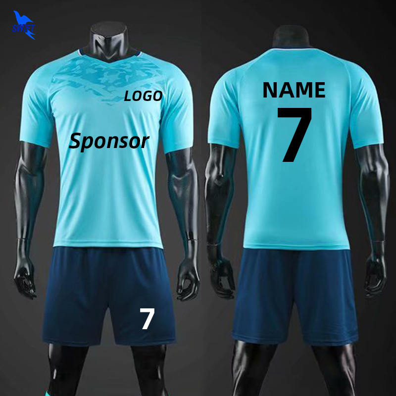 20/21 Customize Kids & Adult Soccer Uniforms Men Women Child Football Training Suit Team Sport Futsal Jerseys+Shorts Running Set
