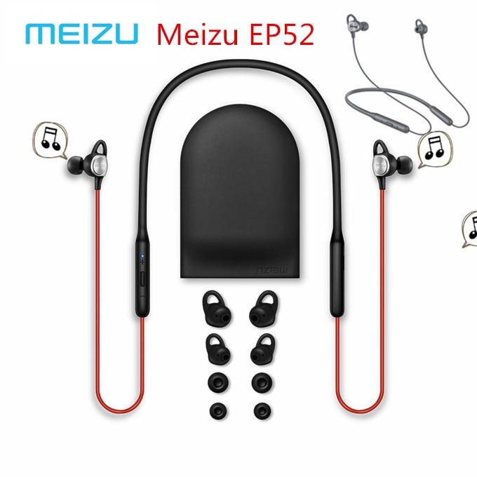 Original Meizu EP52 Wireless Bluetooth earphone 4 1 Sport Earphone Stereo Headset IPX5 Waterproof earphone With