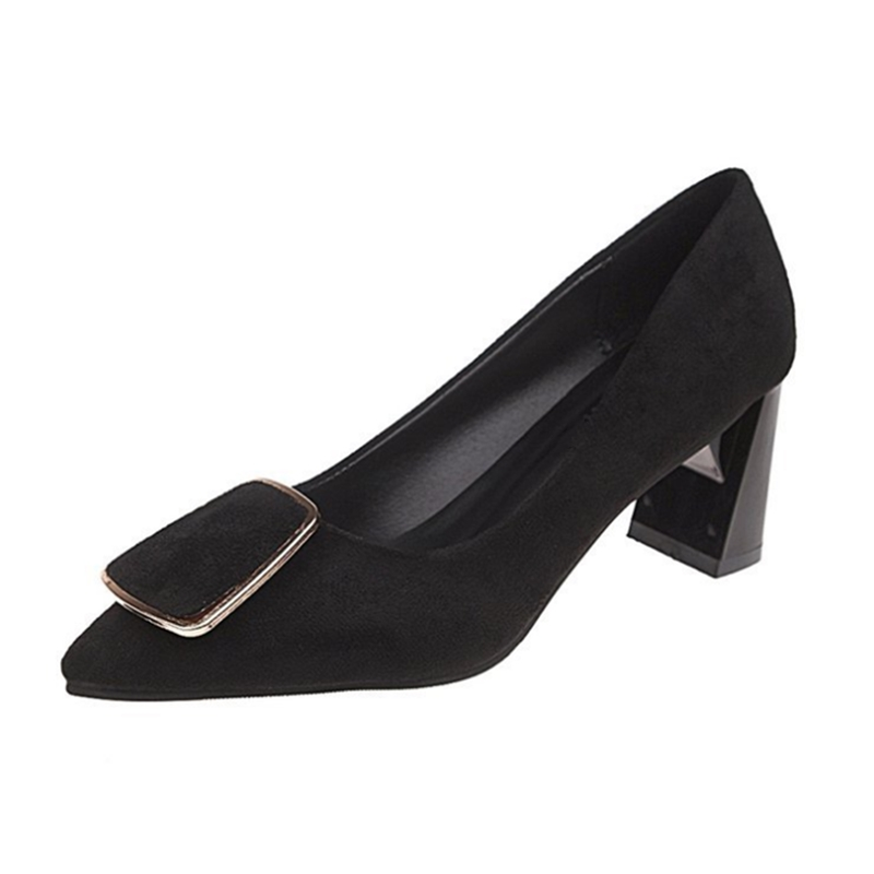 Ho Heave Women Comforty New Style Pumps Shoes Women Fashion  Shoes Hight Heel Pointed Toe Pumps Office Not Slip Lady Shoes-in Women's Pumps from Shoes    1