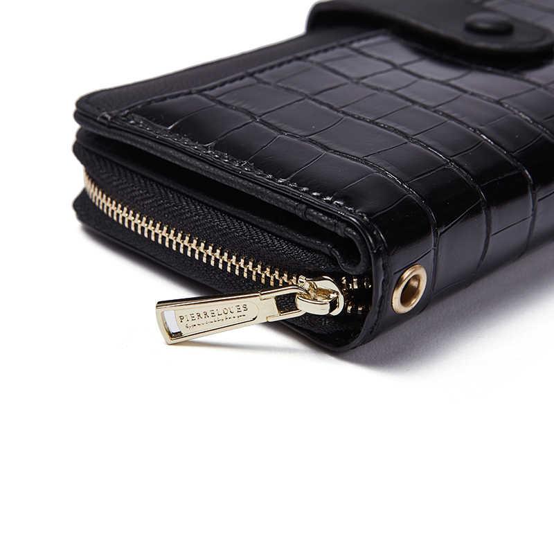 Женские кожаные женские кошельки, кошелек с крокодилом, клатч, длинный женский кошелек на запястье, кошелек для монет, карман для телефона, удобный кошелек для девочек, новинка 2019