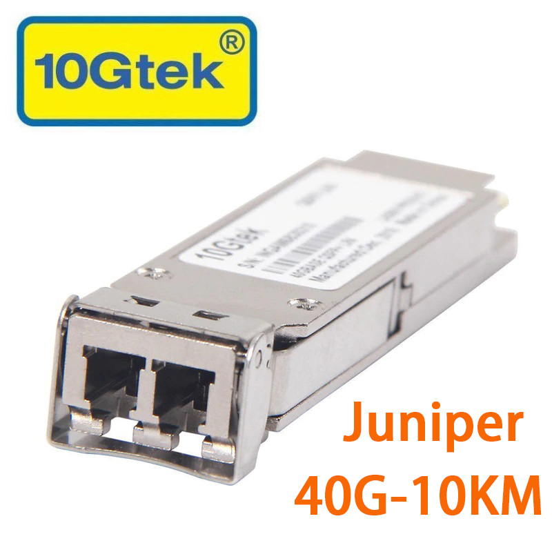 Juniper QSFP + Telsiz 40 Gigabit QSFP + LC Single-Mode-10km QSFP-40G-LR4Juniper QSFP + Telsiz 40 Gigabit QSFP + LC Single-Mode-10km QSFP-40G-LR4