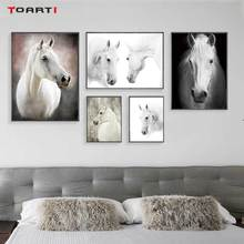 HD Nordic Animals Posters Prints Modern Horse Canvas Painting On The Wall For Living Room Bedroom Home Decor Black Art Pictures