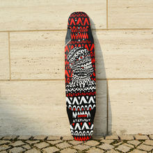 KOSTON pro 2015 New style longboard deck with bamboo and glassfiber hybrid material, 40inch allround use long skateboard deck