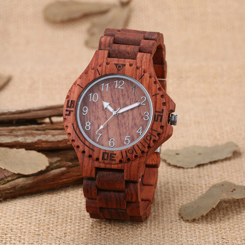 newest wood watch mens watches top brand famous quartz wrist watch wooden band of wooden clock man casual with gift box 2017 mens top brand design wood wrist watch full bamboo band wooden quartz watches men sports casual clock elegant gift dropshipping