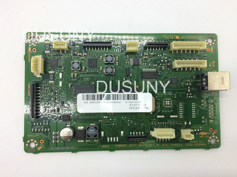 JC92-02688B Formatter Board Main Board for Samsung SL-M2070 SL-M2071 M2070 with fax for 4 in one printer samsung sl m2070 мфу