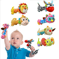 Animal Hanging Toys For Newborns Soft Baby Hand Bed Bells Rattle With Mirror baby toys 0-12 months	Owl/Elephant/Dog/Zebra/Monkey