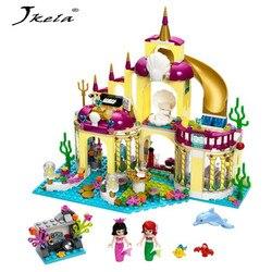[Yamala] Princesse De L'océan Palais Fille Amis Blocs de Construction 402 pcs Briques Jouets Pour Enfants Compatible Avec Legoingly Amis