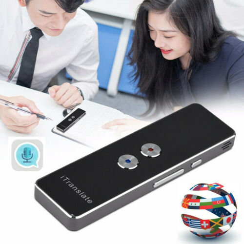 Smart Voice Bluetooth Translator Portable Two-Way 40Language Instant Translation Learning Travel Business Text translator image