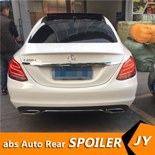 For Mercedes Benz W205 Spoiler 2016-18 C180/C200/C230 C-class Spoiler High Quality  Car Rear Wing Color Rear Spoiler