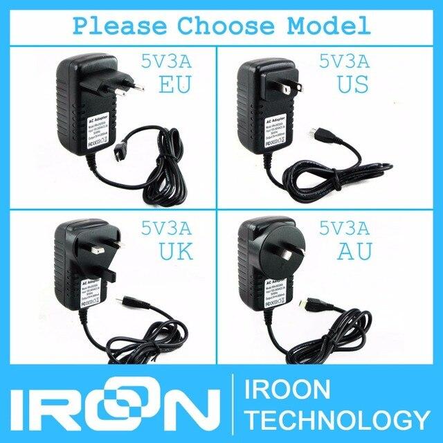 5 В 3а 5В/3А 5В/3000mA Raspberry PI 3 Мощность адаптер питания зарядное устройство DC/AC адаптер PSU Источники питания лучше, чем 5V2. 5A 5 В/2.5A