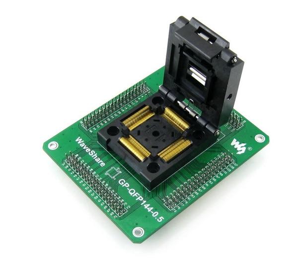 QFP144 TQFP144 LQFP144 GP-QFP144-0.5 Yamaichi IC Test Socket Programming Adapter 0.5mm Pitch+ Free Shipping