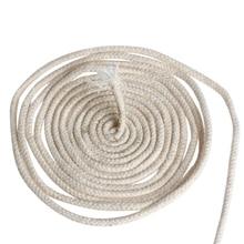 10 м(33 фута) плетеный фитиль для изготовления свечей с хлопковым сердечником для масляных или керосиновых ламп 4 мм