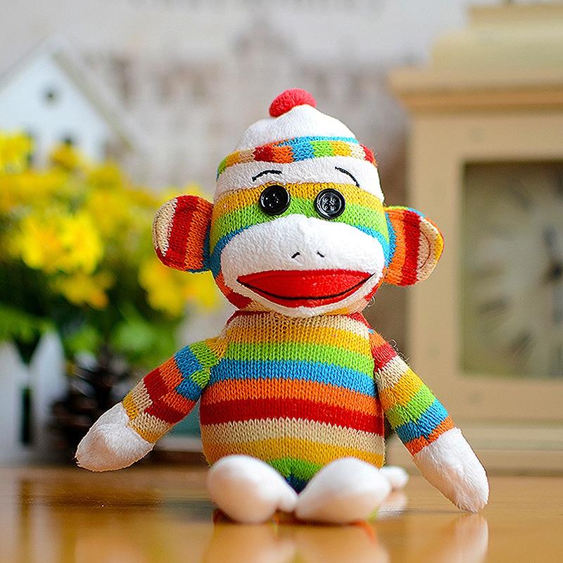 Beanies Boos Kids Ty Stuffed Plush Toys Colorful Sock -7285