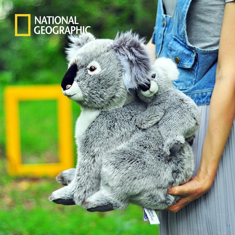 National Geographic Kawaii Koala Plush Toys For Children Australian Koala Bear Plush Stuffed Soft Doll Kids