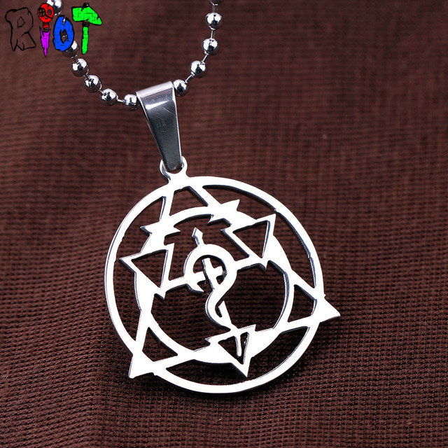 Full metal Alchemist Pendant Necklaces
