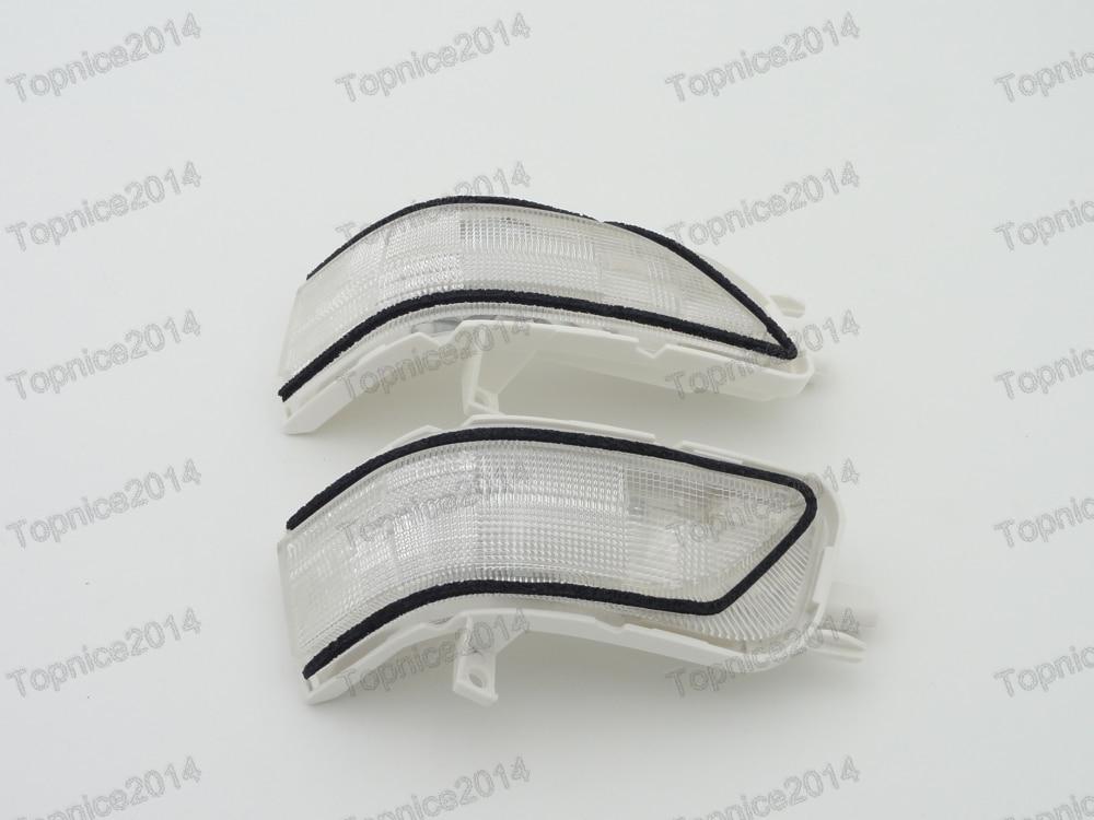 1 Pair Pintu Cermin Turn Signal Light Lampu Indikator Untuk Honda CRV - Lampu mobil - Foto 1