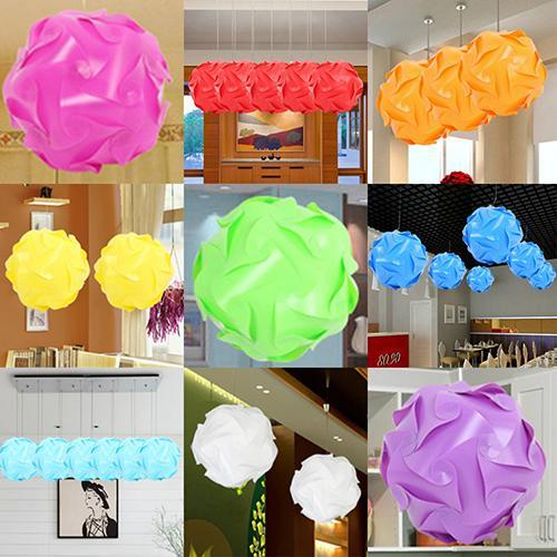 Yeelight 30 Pcs DIY Festival Ceiling Pendant Lamp Shade Jigsaw Puzzle Light Shade Abat Jour Lampenkap