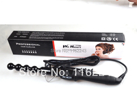 Lots Beauty Popular Hairstyler BUBBLE CURLING IRON , Hair Ceramic Spiral Roller Iron, Curlers Rollers Wand Bulk In Stock