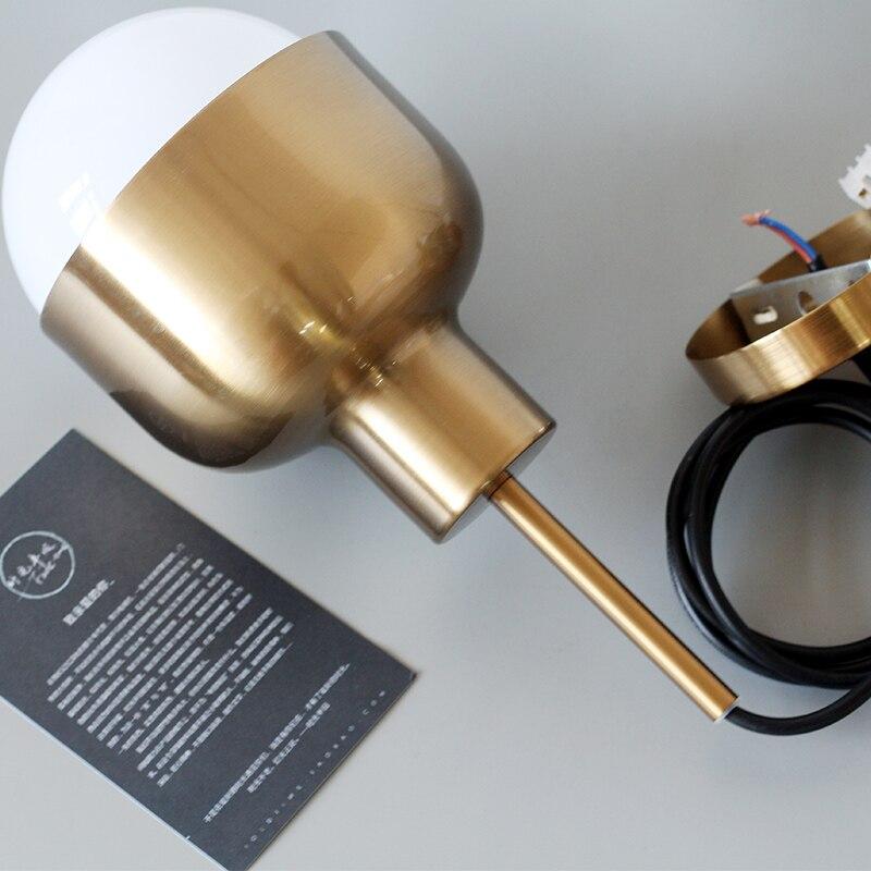 Suspension nordique lampes suspendues danemark moderne Mini Suspension Luminaire Loft Suspension E27 LED ampoule Luminaire lampes - 6