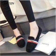 Legújabb szalvéta egyszemélyes cipő Női mutatott lábujj Egypántos strasszos gyémánt lapos cipő Női divat party cipő mocasines mujer 11