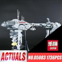 Lepin 05083 1736Pcs Star War MOC Series The Nebulon B Medical Frigate Set Building Blocks Bricks