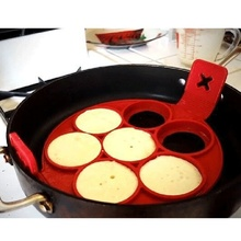 Hot Sale Silicone Breakfast Egg Pan Non Stick Pancake Maker Cheese Egg Cooker Eggs Tools Kitchen Baking Accessories