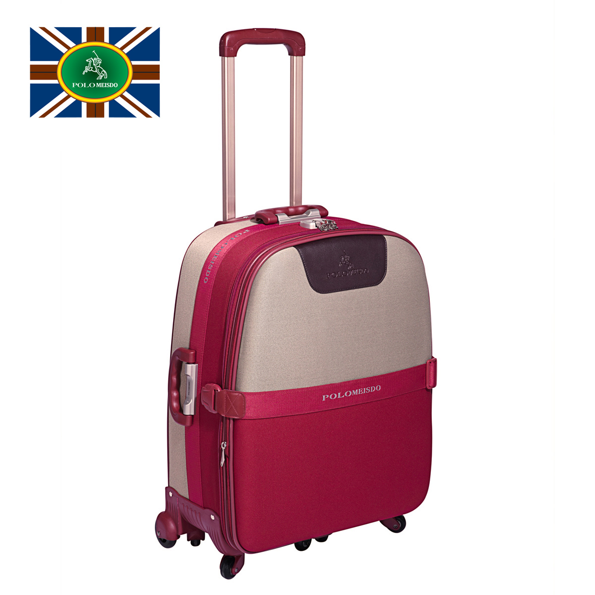 Polo paul universal wheels trolley luggage travel bag vintage 881680 - Volvo Co., Ltd. Shenzhen store